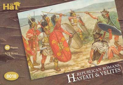 Ancient Roman Republican Hastati & Velites