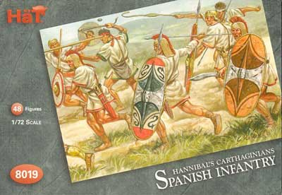Ancient Carthaginian Spanish Infantry