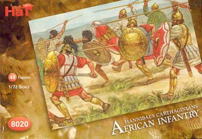 Ancient Carthaginian African Infantry