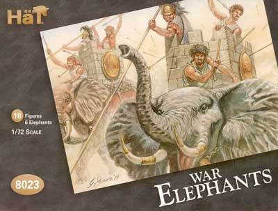 Ancient Carthaginian War Elephants