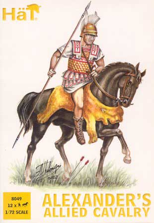 Ancient Alexander's Allied Cavalry