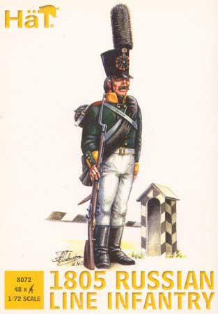 Napoleonic 1805 Russian Line Infantry