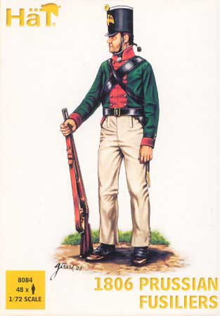 Napoleonic 1806 Prussian Fusiliers