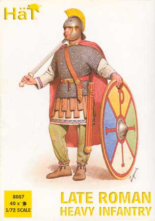 Ancient Late Roman Heavy Infantry