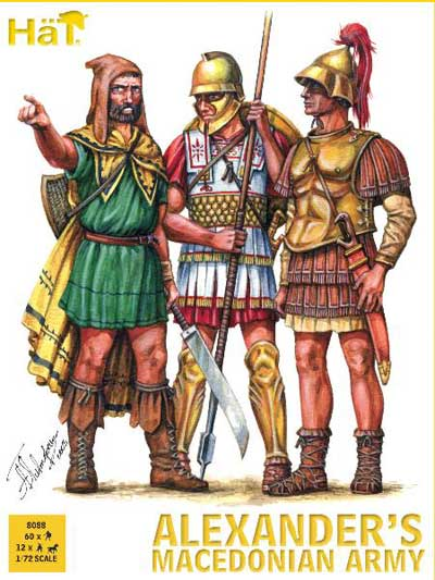 Ancient Alexander's Macedonian Army