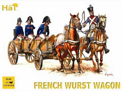 Napoleonic French Wurst Wagon