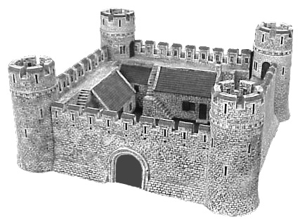 Castle- Standard Four Section Model