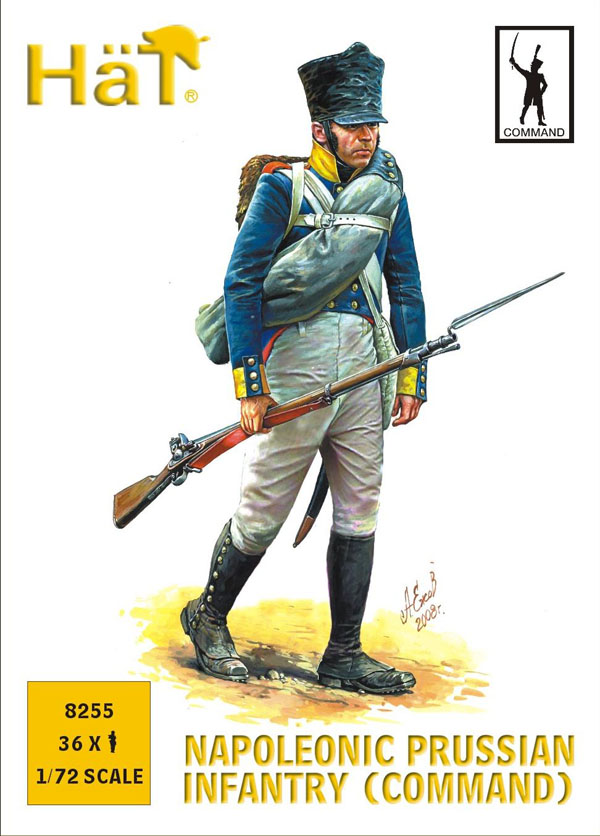 Napoleonic Prussian Infantry Command