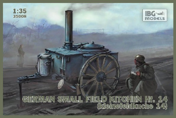 WWII German Hf14 Small Field Kitchen
