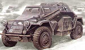 WWII German Sd.Kfz.260 Radio Communication Vehicle