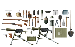 WWI Austro-Hungarian Infantry Weapons & Equipment
