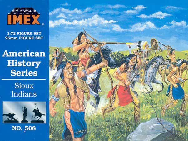 Sioux Indian Figures