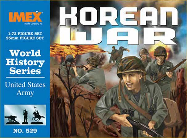 Korean War US Infantry