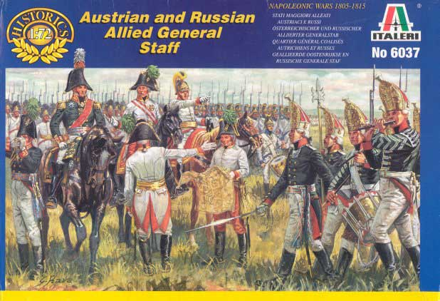 Napoleonic Austrian and Russian Allied General Staff