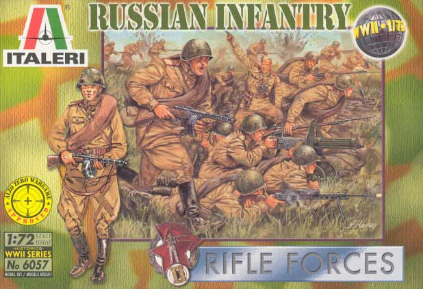 WWII Russian Infantry Rifle Forces