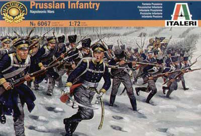 Napoleonic Prussian Infantry