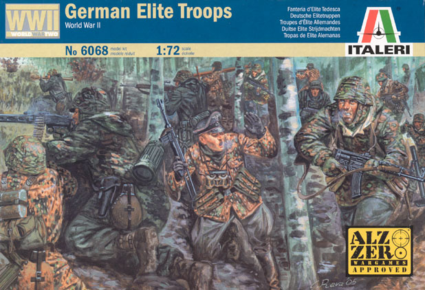 WWII German Elite Troops