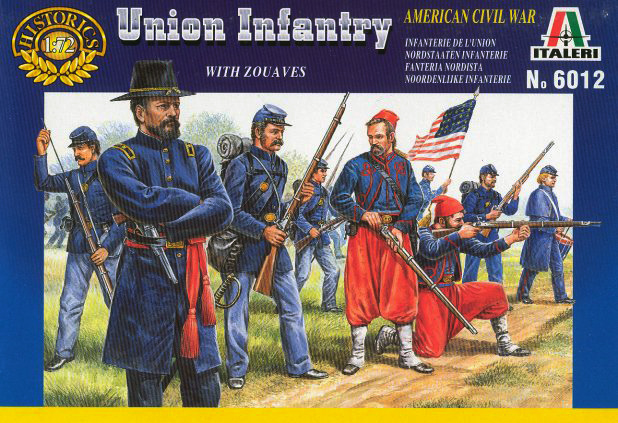 ACW Union Infantry and Zouves