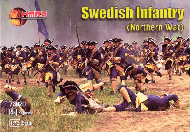 Swedish Infantry, Northern War