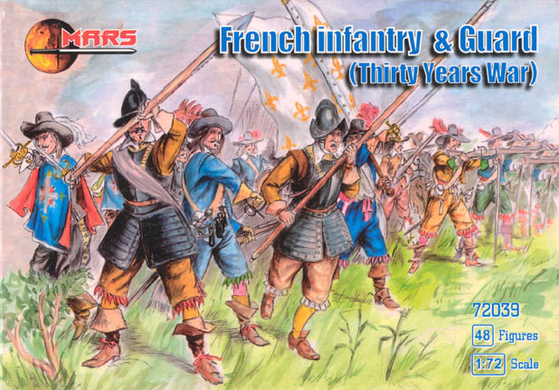 Thirty Years War French Infantry and Guard