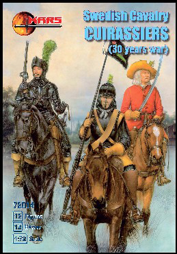 Swedish Cuirassiers, 30 Years War