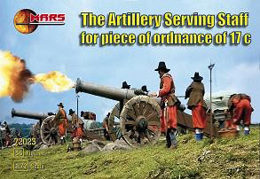 Artillery Serving Staff for 17th Century Ordnance