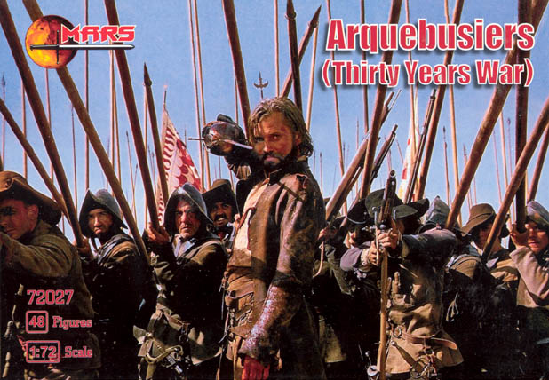 Thirty Years War Arquebusiers