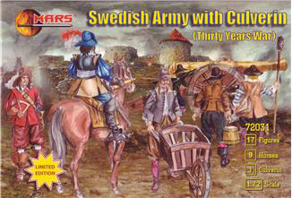 Thirty Years War Swedish Army with Culverin