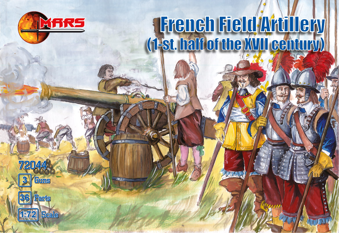 Thirty Years War French Field Artillery
