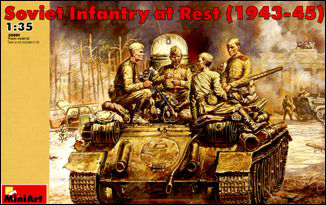 WWII Soviet Infantry at Rest 1943-45 (4)