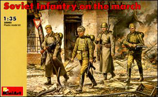 WWII Soviet Infantry on the March (4)