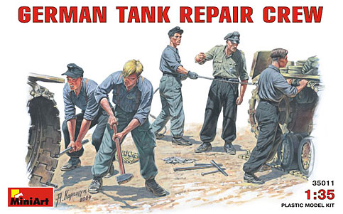 WWII German Tank Repair (5)