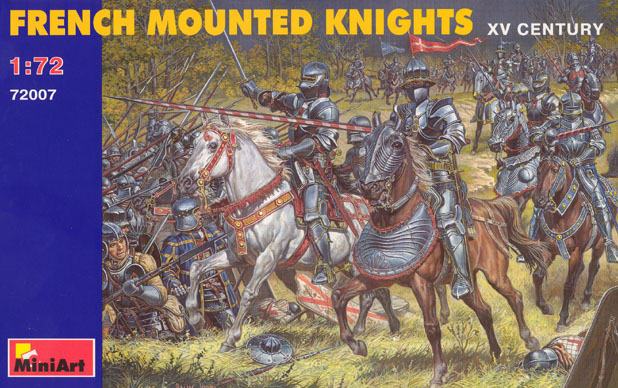 French Mounted Knights 15th Century