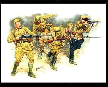 WWII Soviet Infantry in Action, Eastern Front 1941-42