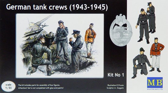WWII German Tank Crew Set #1 1943-45