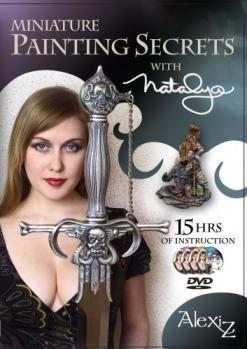 Miniature Painting Secrets with Natalya - 4 DVD set