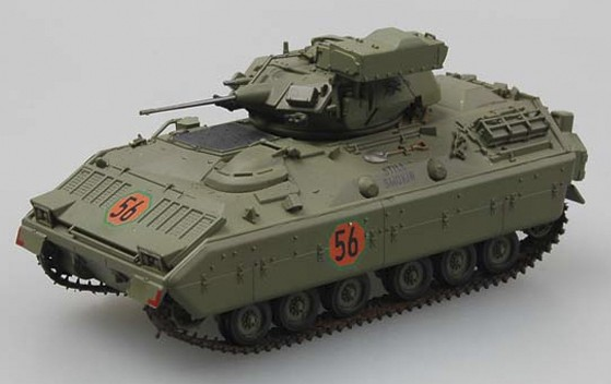 U.S. M2 Tank (Green Camo, Built-Up Plastic))
