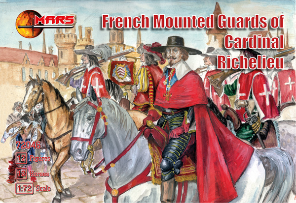 French Mounted Guards of Cardinal Richelieu