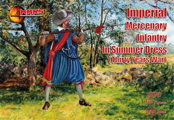 Thirty Years War Imperial Mercenary Infantry Summer Dress