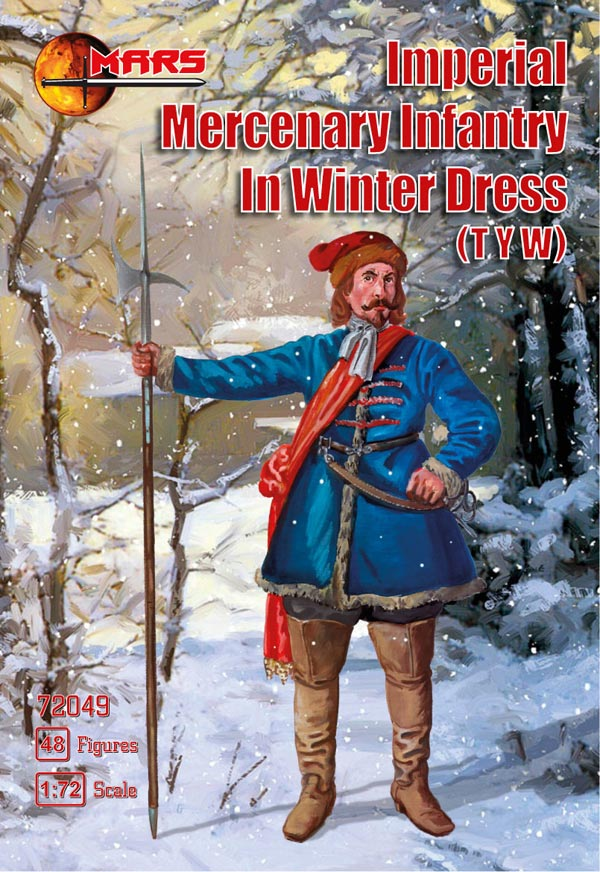 Thirty Years War Imperial Mercenary Infantry Winter Dress
