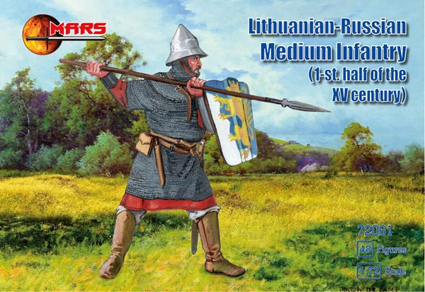 Lithuanian Russian Medium Infantry - 1st Half 15th Century