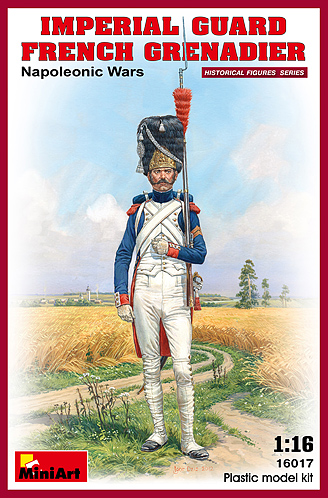 Napoleonic French Imperial Guard Grenadier