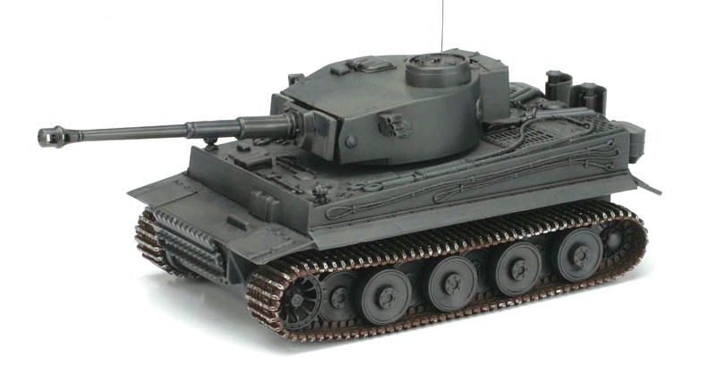 Tiger Battery Tank; Operated Model Kit