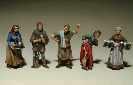 Medieval Townsfolk 4 - In the Tavern