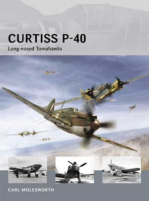 Osprey Air Vanguard: Curtiss P-40 Long-nosed Tomahawks