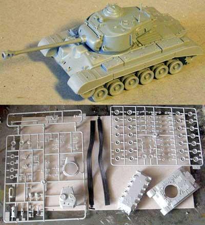 1//72 SCALE 20mm Pegasus Hobbies PEG-7505 T-26E3 PERSHING TANK