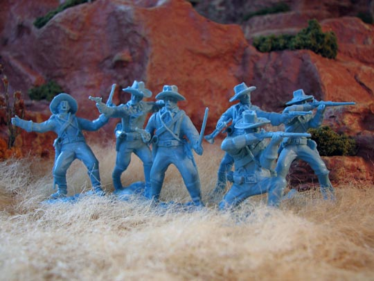 U.S. Cavalry Set #1 Dismounted