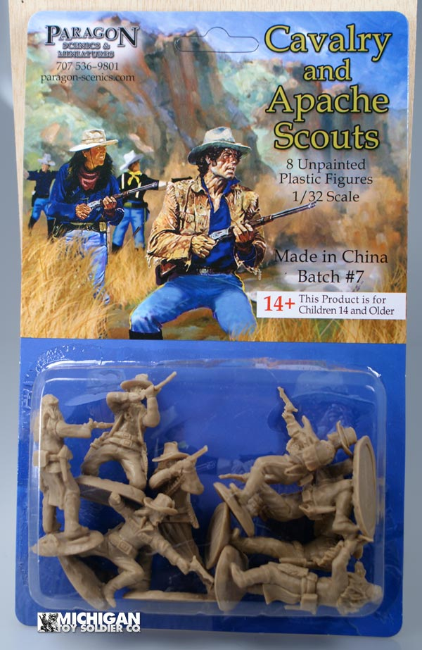 U.S. Cavalry Scouts and Apaches Scouts Buckskin