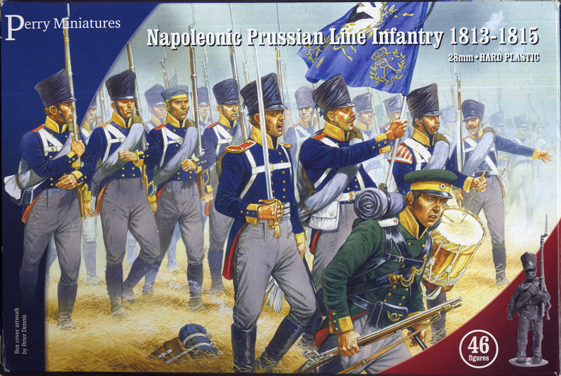 Perry Miniatures Napoleonic Prussian Infantry 1813-15