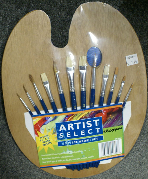 Artist Select 12 Piece Brush Set